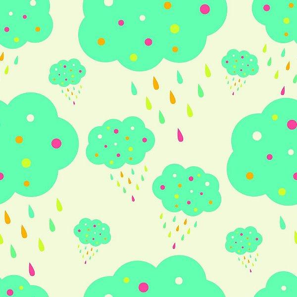 Papel de parede chuva fp1075