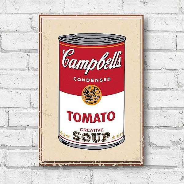 Placa decorativa tomato FD102