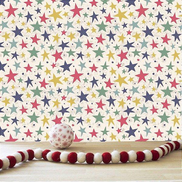 Papel de parede estrelas - PB014