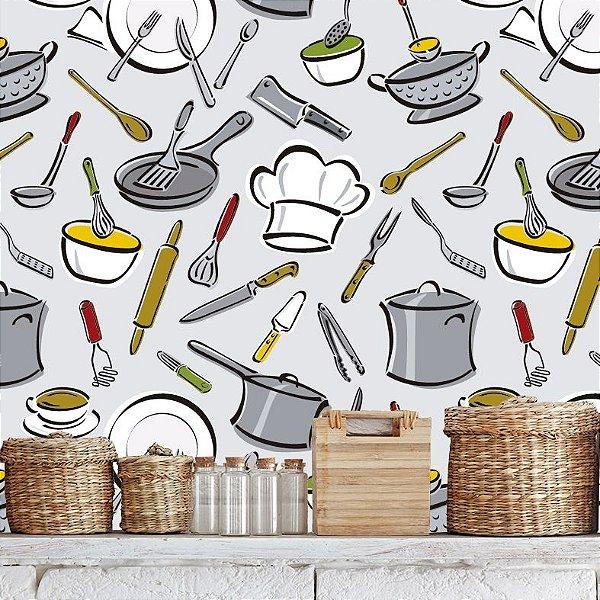 Colocador de papel de parede no abc