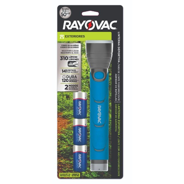 Lanterna Sportsman Metal Led - Rayovac
