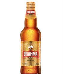 Cerveja Brahma Zero Long Neck 355ml com 24 unidades