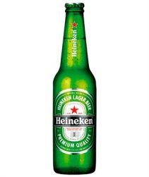Cerveja Heineken Long Neck 330ml com 24 unidades