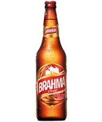 Cerveja Brahma Garrafa 600ml com 24 unidades
