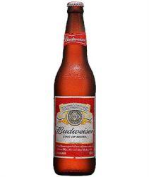Cerveja Budweiser Garrafa 600ml com 24 unidades