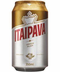 Cerveja Itaipava Lata 350ml com 12 unidades