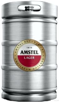 Chopp Amstel Barril 50L