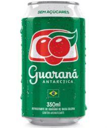 Refrigerante Guaraná Antarctica Zero Lata 350ml com 12 unidades