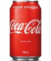 Refrigerante Coca Cola Lata 350ml com 12 unidades
