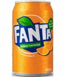 Refrigerante Fanta Laranja Lata 350ml com 12 unidades
