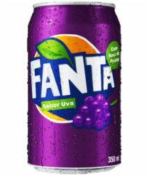 Refrigerante Fanta Uva Lata 350ml com 06 unidades
