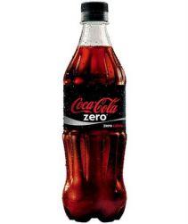 Refrigerante Coca Cola Zero Pet 600ml com 12 unidades
