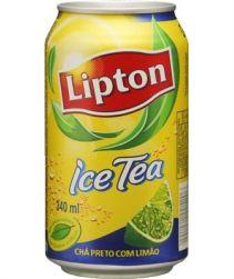 Lipton Ice Tea Limão Lata 340ml com 12 unidades