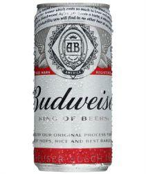 Cerveja Budweiser Lata 269ml com 08 unidades