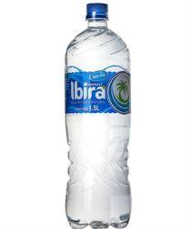 Água Ibirá sem gás Pet 1,5L com 06 unidades