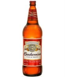 Cerveja Budweiser Garrafa 550ml com 12 unidades