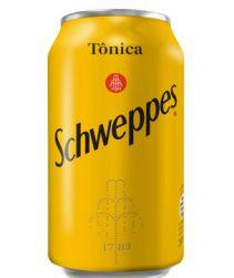 Refrigerante Schweppes Tonica Lata 350ml com 06 unidades