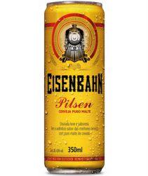 Cerveja Eisenbahn Lata 350ml com 12 unidades