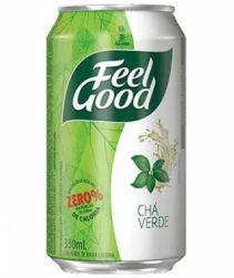 Chá Verde Feel Good Limão Lata 330ml com 12 unidades