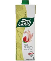 Chá Branco Feel Good Lichia 1L com 12 unidades