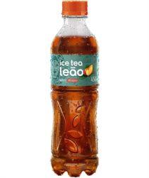 Leão Ice Tea Pêssego Pet 450ml com 06 unidades