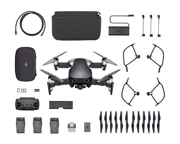 Drone Dji Mavic Air Onyx Black Fly More Combo