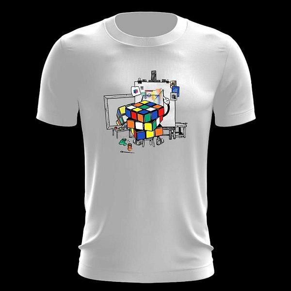 Camiseta Cubo Mágico