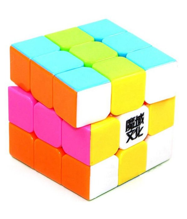 Cubo Mágico 3x3 MoYu/YJ GuanLong (Stickerless-Rosa)