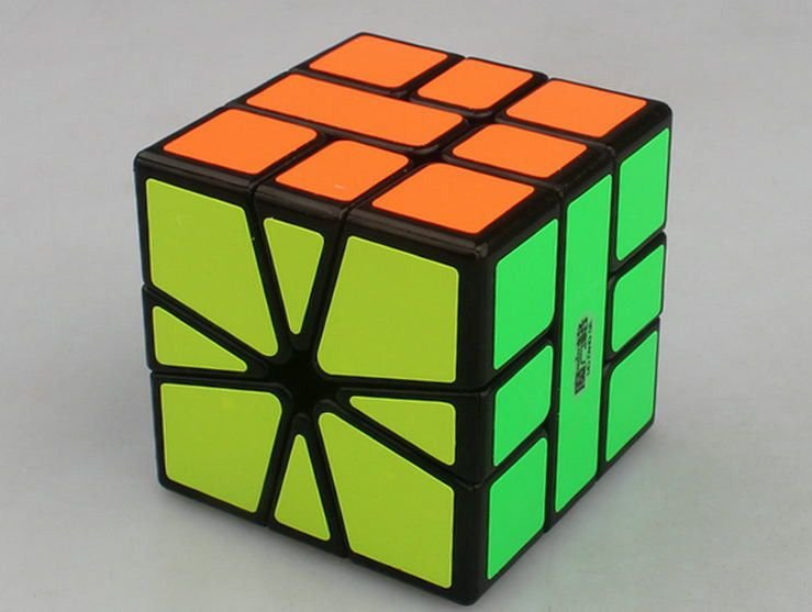Square-1 QiYi MofangGe (Preto)