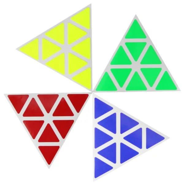 Kit de adesivos Supersede Bright Pyraminx