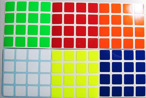 Kit de adesivos Supersede Bright 4x4