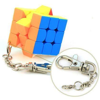 Cubo Mágico 3x3 Moyu Mini Chaveiro 30mm