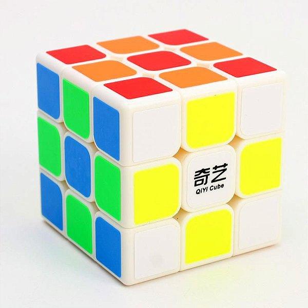 Cubo Mágico 3x3 Qiyi Sailing - (Branco)
