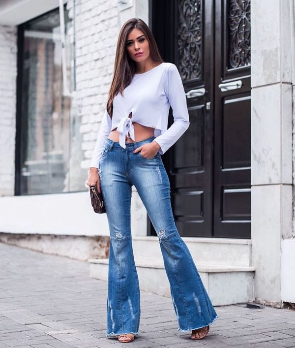 29a9be66a0 Calça jeans flare - 99Dress a loja mais fashion do Brasil