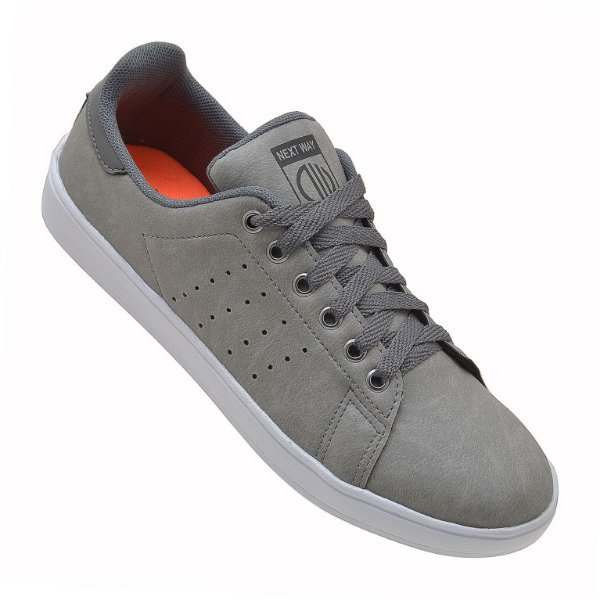 37712af2cfb Sapatênis Masculino Casual Sapato Tênis Original Cinza