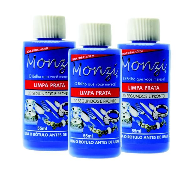 01 - Kit Monzi - Limpa Prata (3 Un)