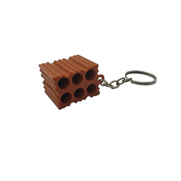 Chaveiro Tijolo Miniatura