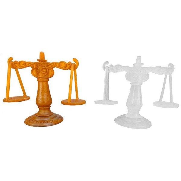 Balança da Justiça com Reservatório para Óleo de Unção