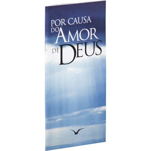 Livreto Por causa do Amor de Deus