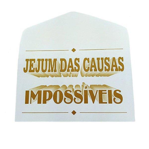 Envelope Sábado Jejum das Causas Impossíveis