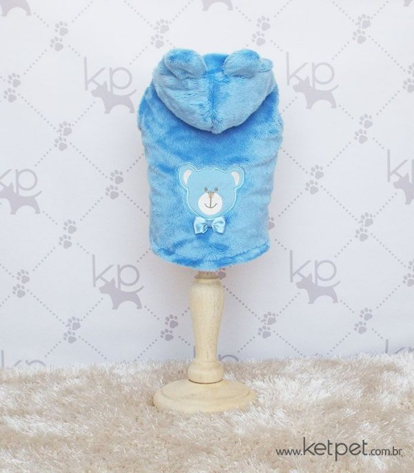 Casaco Urso Azul Maristela