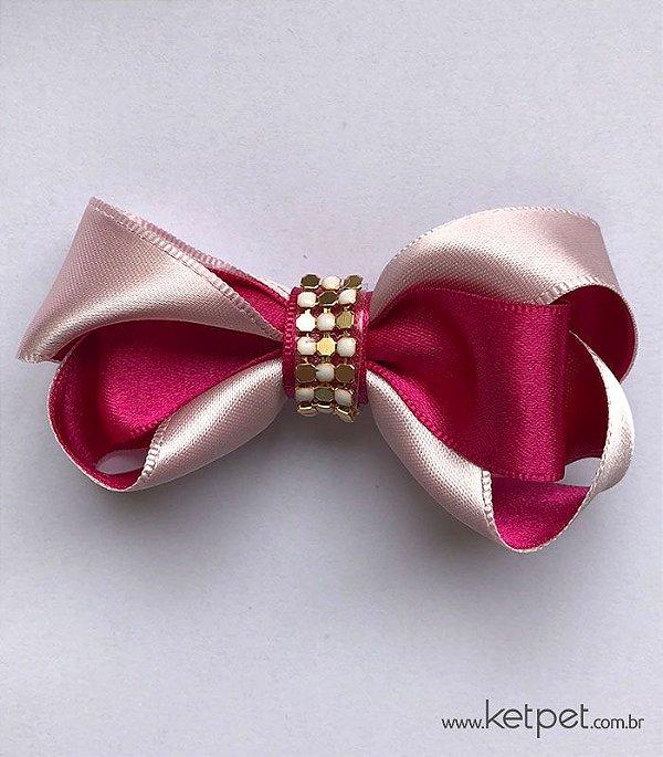 Laço Pink e Rosa