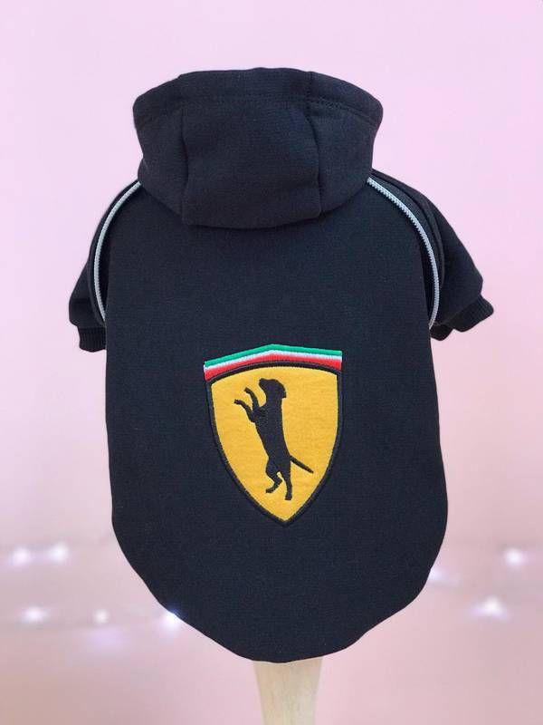 Moletom Race Ferrari - Black