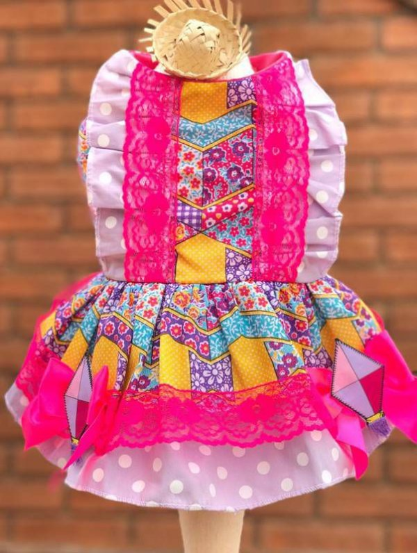 Vestido Caipirinha - Rosa
