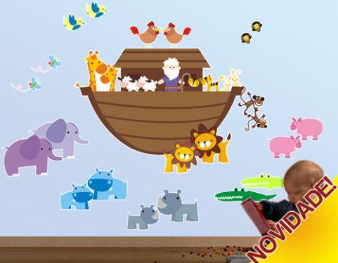 Adesivo Arca de Noé