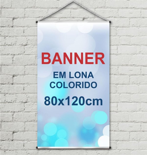 Banner Impresso 80x120cm