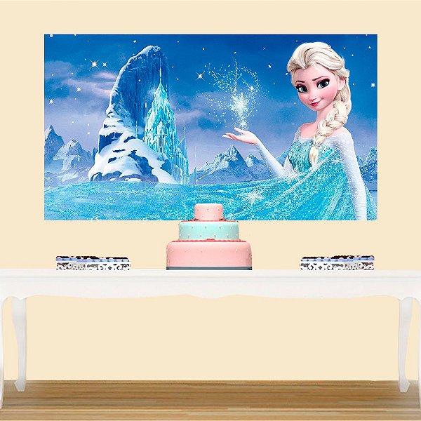 Painel de Festa Infantil Frozen 3
