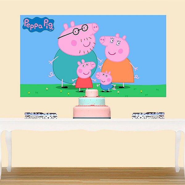 Painel de Festa Infantil Peppa Pig