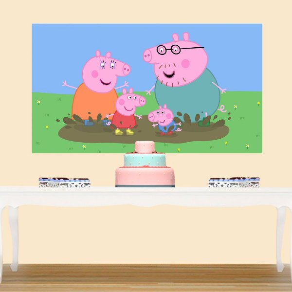 Painel de Festa Infantil Peppa Pig 2