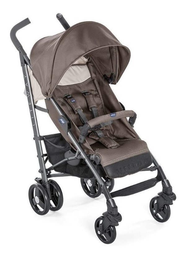 Carrinho de Bebê Liteway 3 Chicco - Dove Grey